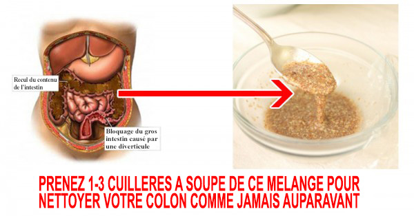 2-ingredient blend to cleanse the colon and shed pounds of waste of your size and body