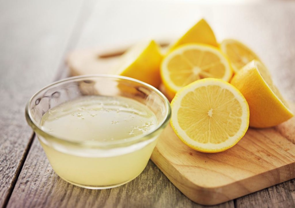 To lose weight, the lemon juice cure