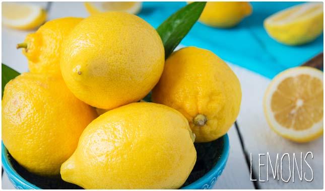 20 Aliments diurétiques pour se détoxifier, perdre du poids et abaisser votre pression artérielle citron