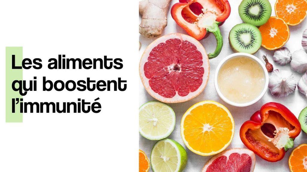 Les aliments qui stimulent l'immunité
